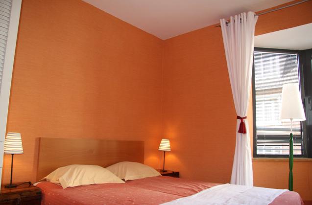 Bedroom Peach