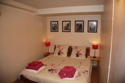 Basement apartment bedroom