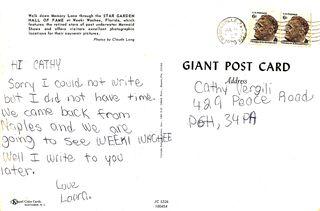 Weeki postcard