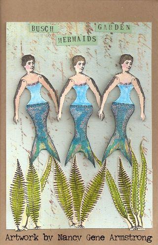 Busch Garden Mermaids