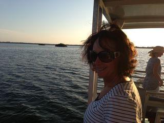 Catherine cruising
