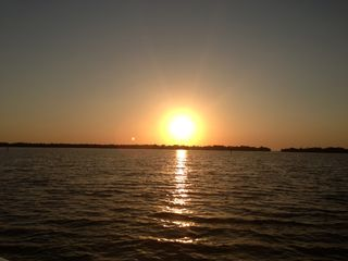Sunset on tarpon bay