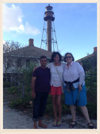 Luis Catherine Julie at Lighthouse