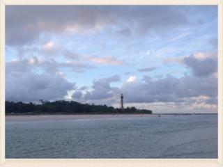 Lighhouse Beach at Sunset