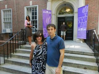 Ian and me NYU