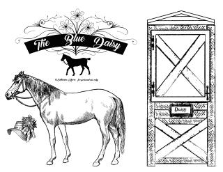 Blue Daisy Horse Barn 1