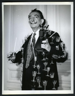 Dali in jacket