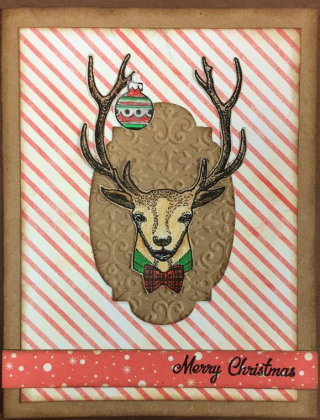 Lisa Bruno Christmas 2016 new deer