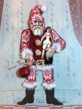 Santa by me