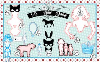Blue Daisy Die web layout copy