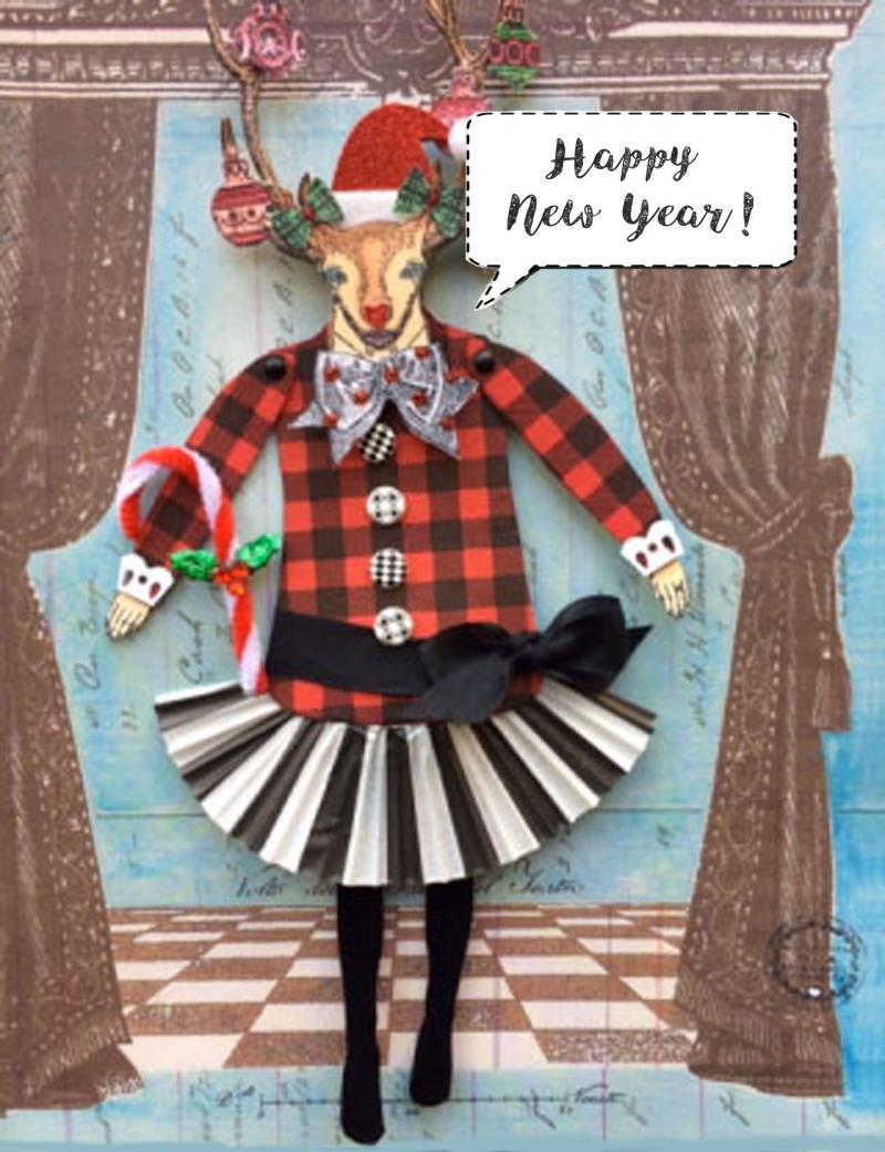 New Year Reindeer