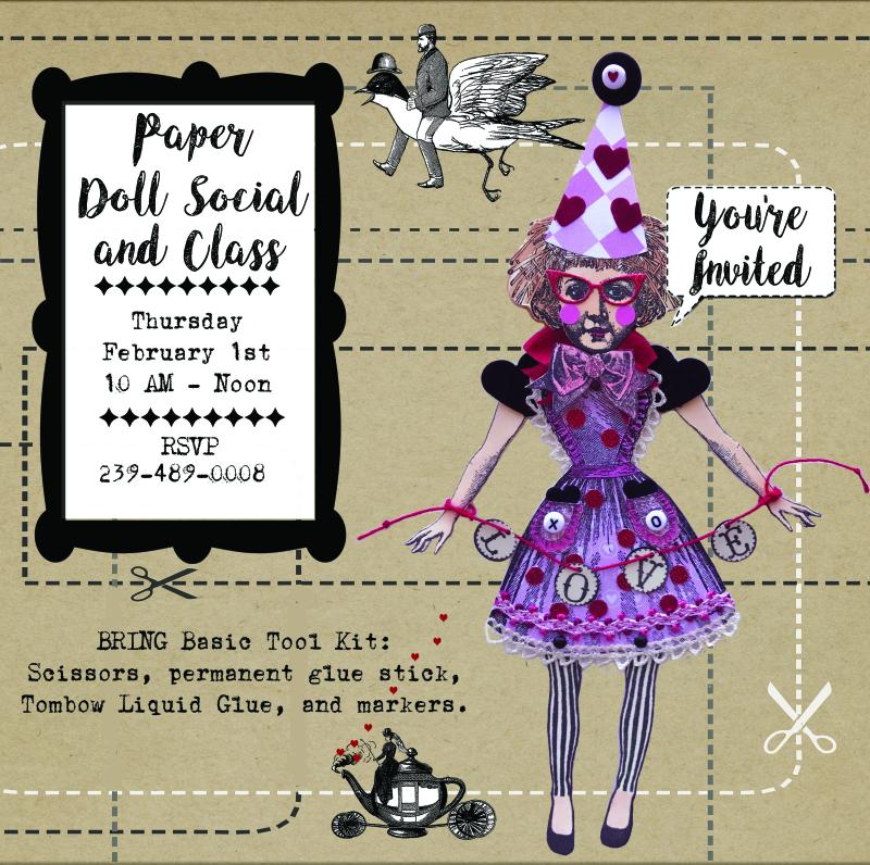 Paper Doll Social RSVP