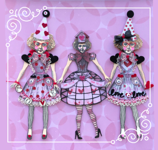 Valentine Doll Variation