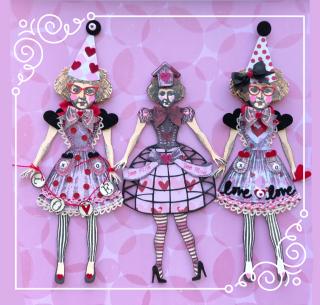 Valentine Doll Variation